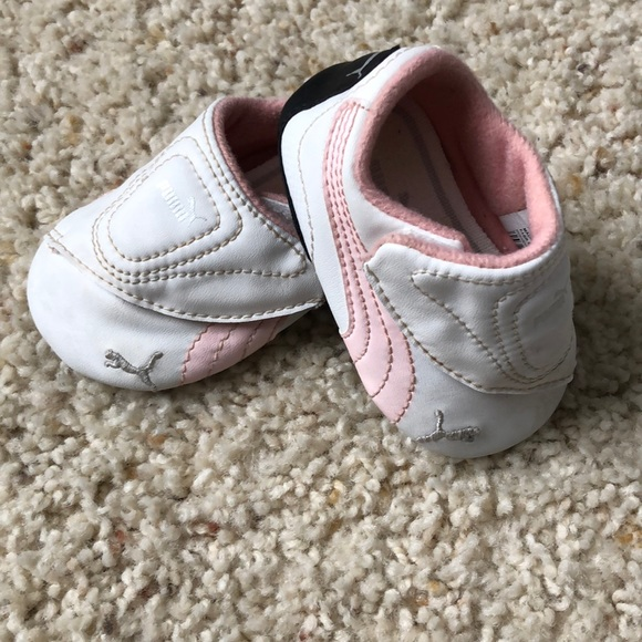 907f29c8d0ce Baby girl Puma shoes. M 5c3f8127951996f71af2dd51
